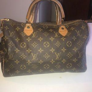 Louis Vuitton Bags - Louis Vuitton Vintage Speedy 30 Satchel